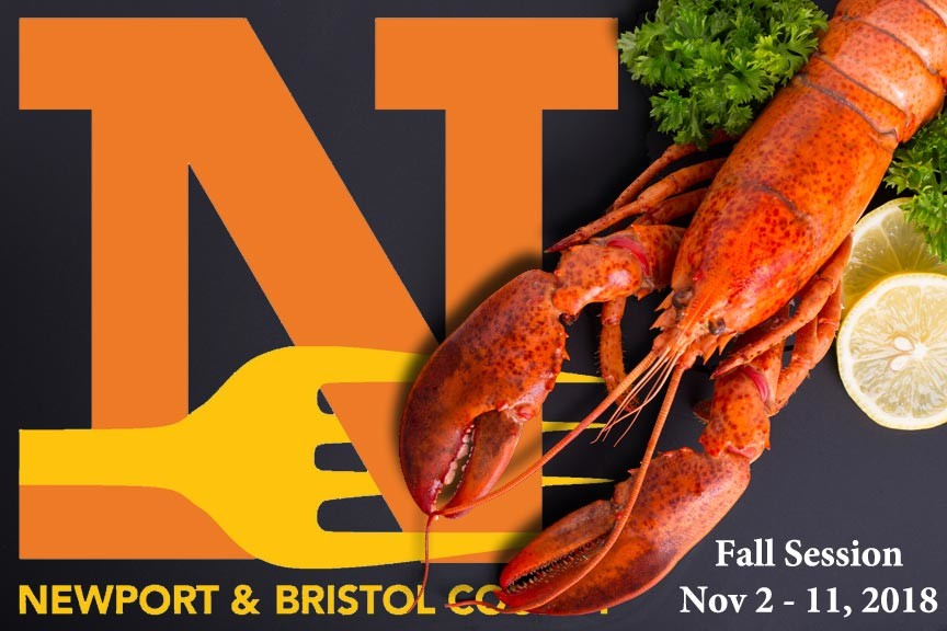 Don't Miss the Fall Session of Newport Restaurant Week 2018!